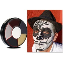 VERONNI 6 Color Halloween Party Face Body Painting Professional Oil Tattoo Body Paint Makeup Cosmetic Painting Art For Party party cosplay zombie teeth 6 color face body painting pigment white red multi color