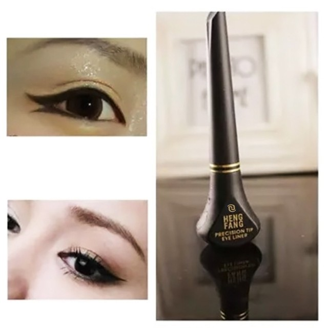 LEARNEVER New Black Makeup Cosmetic Waterproof Long Lasting Eye Liner Liquid Eyeliner Pencil Pen Beauty # M01217 5