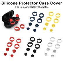 High Quality Silicone Protector Case Cover Shell Protective Kits For Samsung Galaxy Buds Bluetooth earphones De