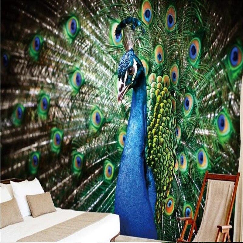 Beibehang Photo Wall Mural Wallpaper 3d Luxury Quality Hd Beautiful
