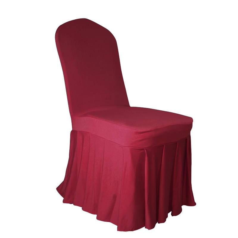 c79d9533f Marious جديد نمط غطاء مقعد دنة 50 قطع أسفل مطوي غطاء مقعد ل مأدبة الزفاف  شحن مجاني