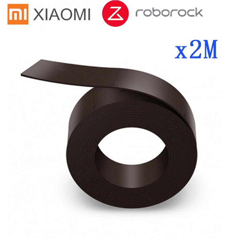 2 M Virtual Magnetic Stripe Wall for XIAOMI Mi Roborock Vacuum Cleaner 2m Wall Accessory for Sweeping Robot 1/ 2 Generation(China)