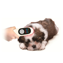 Veterinary use protable lllt cold laser pain relief wound healing instrument for animals.