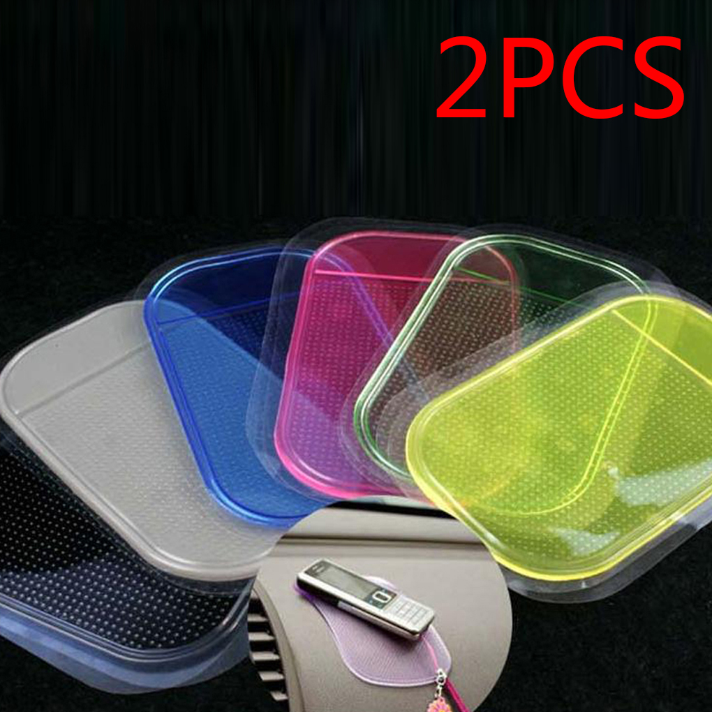 2pcs Styling Sticky Gel Pad Holder Magic Dashboard Silicone Anti Non Slip Mat Car Accessories Car for Gadget Phone цена