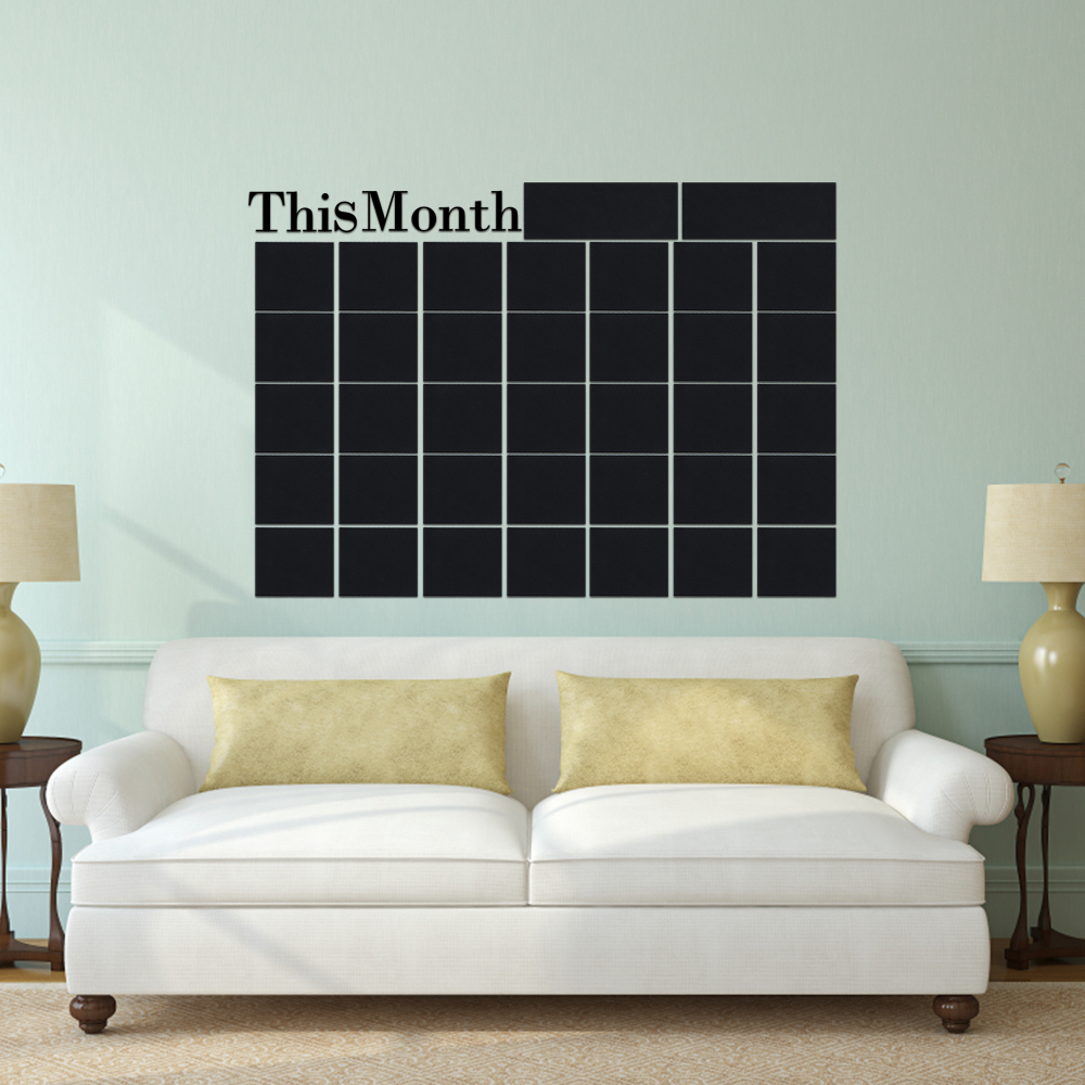 Wall Mounting Month Planner 2