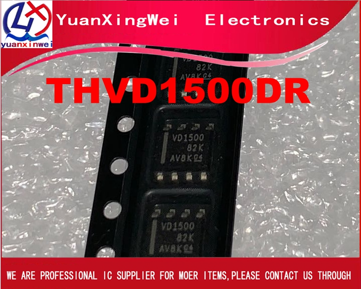 New Original THVD1500DR VD1500  Single Transmitter/Receiver RS-485 8-Pin SOIC T/R
