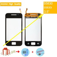 For Samsung Galaxy Ace S5830 S5830i GT-S5830 Touch Screen Panel Sensor Digitizer Front Glass Outer Lens Touchscreen No LCD