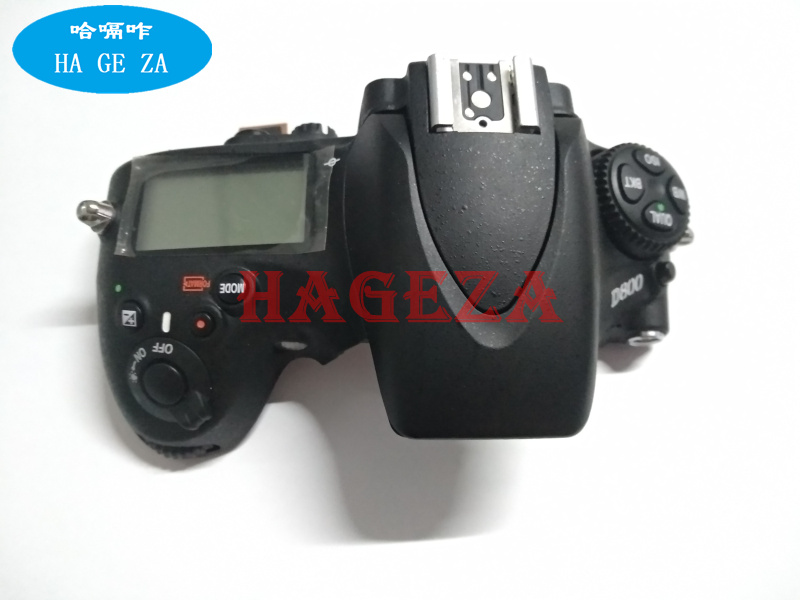 D800 Top Cover Top Case With Flash Board Top LCD FPC Unit For Nikon D800 SLR Camera Repair Replacement Part Original