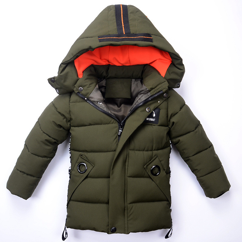 Boys Winter Jacket Casual Warm Thick Hooded Coats 2018 Brand Fashion Toddle Baby Boy Outerwear Children Clothing Kids Clothes casio mtp v300d 1a