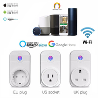 WiFi Smart Plug Works With Alexa Echo Google Home Smart Socket With Voice Control Timing Function