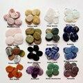 Набор из 7 камней в виде чакр, натуральные кристаллы, пальмовые камни, религиозное исцеление, медитация, плоские кристаллы для спины