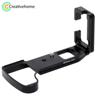 FITTEST L Quick Release Plate Vertical Shoot Bracket Base Holder for Sony RX10 III Metal Ballhead Quick Release Tripod Adapter