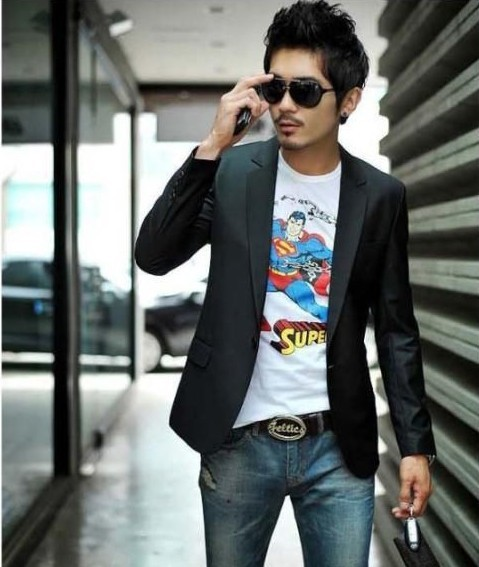Asian clothing man style suit