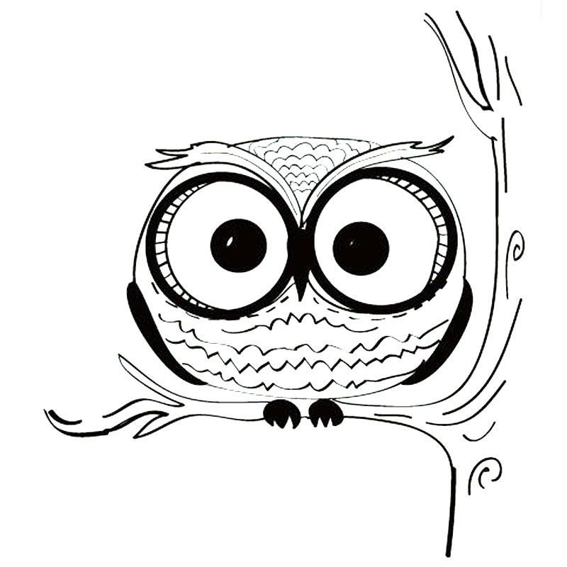 Online Get Cheap Owl Vinyl Decal Car Aliexpresscom Alibaba Group - Owl custom vinyl decals for car