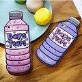 Cubierta del teléfono para iphone7 5 5S 6 6 s case moda creativa botella de silicona fundas para iphone6 6 s 7 plus cubierta cellphonoe case personalizado