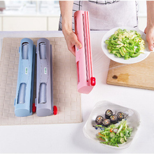 Дозатор/резак для пищевой обертки, кухонный инструмент, фольга, оберточная кулинарная пленка, Диспенсер, пластиковый острый резак, держатель для хранения HA