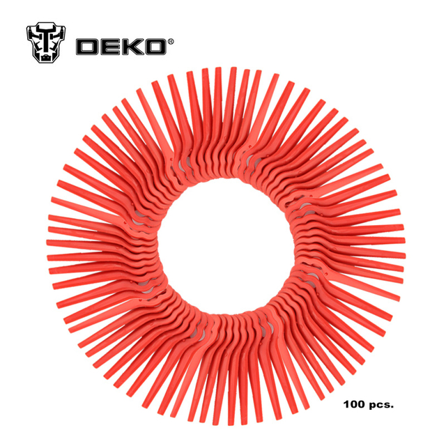 DEKO 100pcs Swing Plastic Blade Pendants for DKGT06