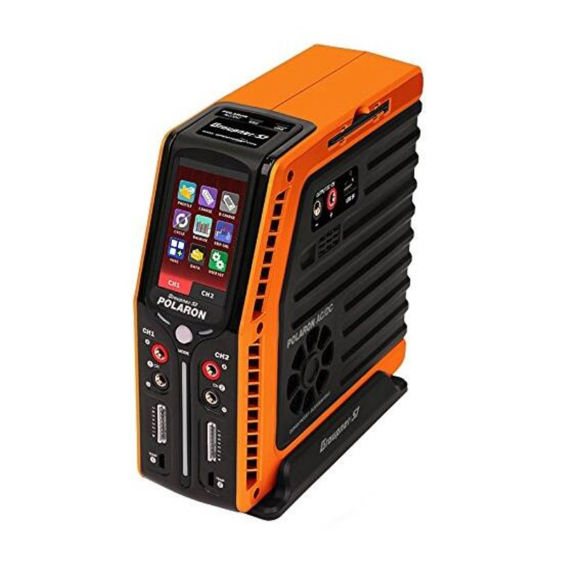Graupner Polaron EX 800W 7S 3 Color and Touch TFT Charger (Orange) graupner des 708 bb mg