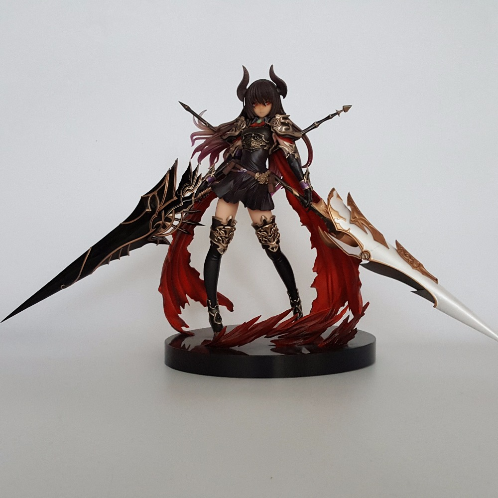 Rage of Bahamut Action Figures Forte The Devoted PVC 280mm Collectible Model Toy Anime Game Rage of Bahamut Diadragoon skyway eco