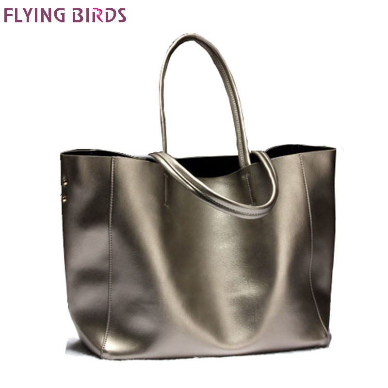FLYING BIRDS Genuine Leather Women Handbag Famous Brands Messenger Bags Fashion Cow leather women tote high quality pouch a2614 стоимость
