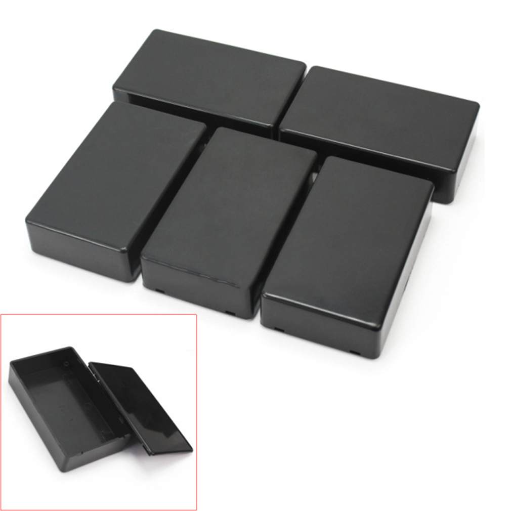 2018 Hot Sale And High Quality 5Pcs Plastic Electronic Project Box Enclosure Instrument Case 100x60x25mm Brand New