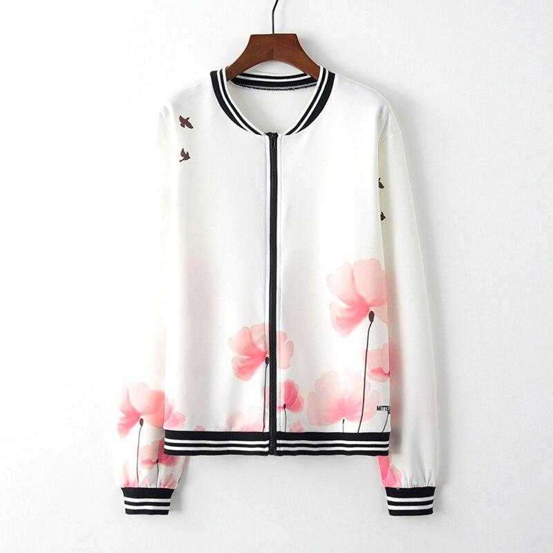Womens Ladies 3D Print Zipper Up Outwear coats Casual Sportwear Streetwear Jacket Female Outwear Outfits Jackets