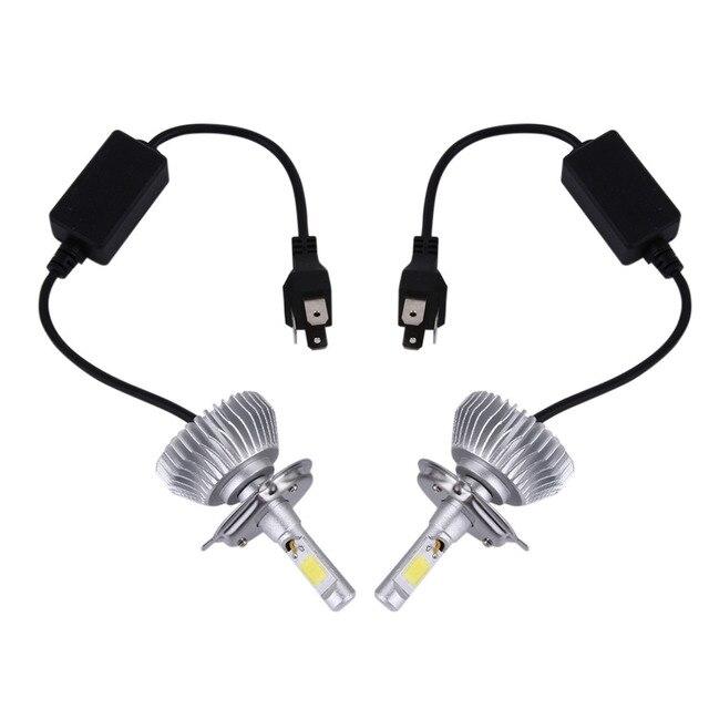 1 Par Chips de LED Luz 60 W 6000LMH4/9004/9007/H13/H1/H7/H3/9005/9006/H11 Farol Kit H/L Feixe de Lâmpadas 6000 K