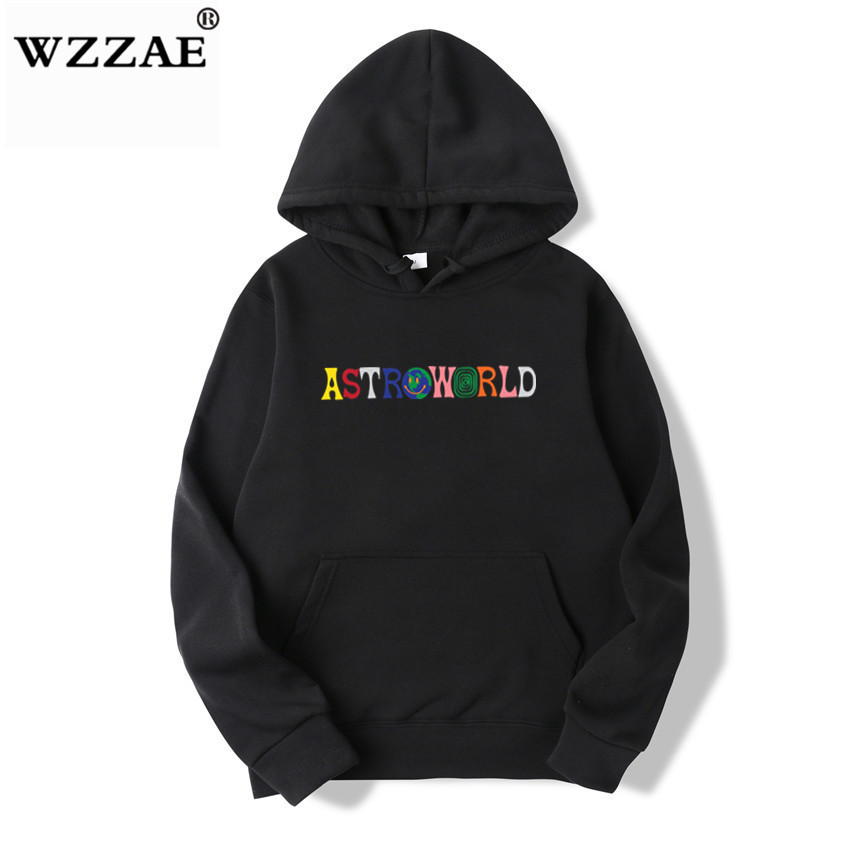 TRAVIS SCOTT ASTROWORLD WISH YOU WERE HERE HOODIES fashion letter ASTROWORLD HOODIE streetwear Man woman Pullover Sweatshirt 2