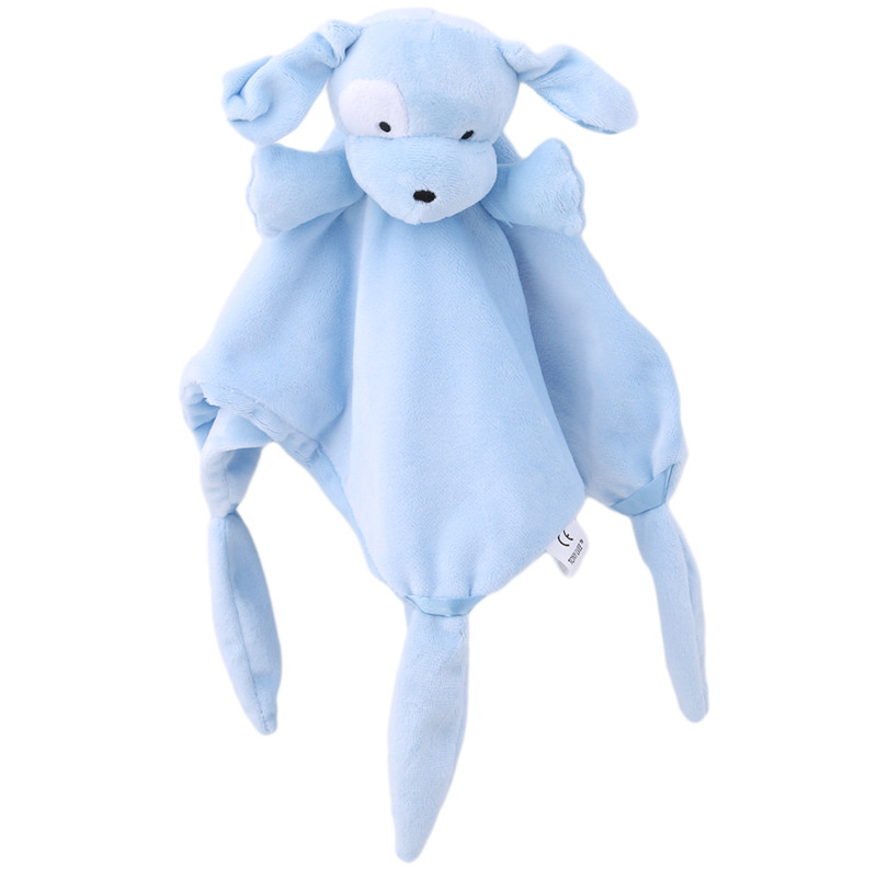 Newborn Teether Early Educational Toy New Elephant Rabbit Cute Soft Newborn Baby Rattles Baby Toy Plush Infant Comfort Towel