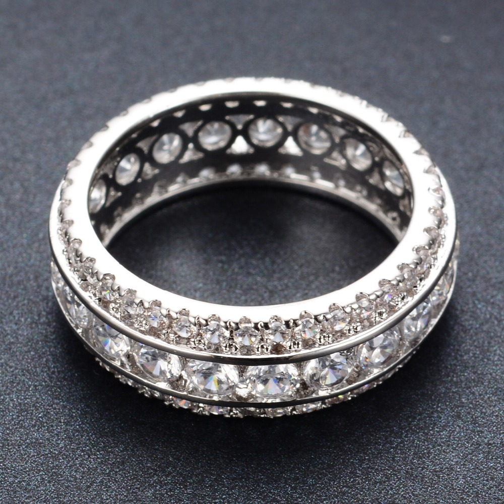 the pear gorgeous ring shaped engagement pave rings