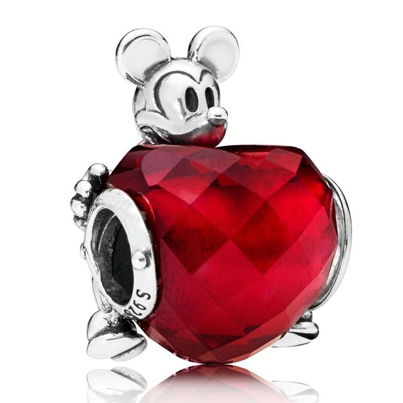 Pendentif Mickey en argent pour bracelet ...
