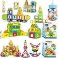 77-402PCS Blocos Magnéticos Magnético Designer de Construção de Construção de Brinquedos Conjunto de Mini Tamanho Ímã Brinquedos Educativos para As Crianças Presentes