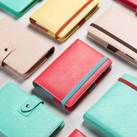 Macaron Spiral Notebooks Stationery Multi Function Cute Wave Point Travel Journal Candy Personal Agenda Planner Organizer