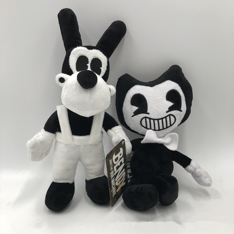 Bendy and the Ink Machine Series Figure Bendy Boris Plush Toys Doll Xmas Gifts