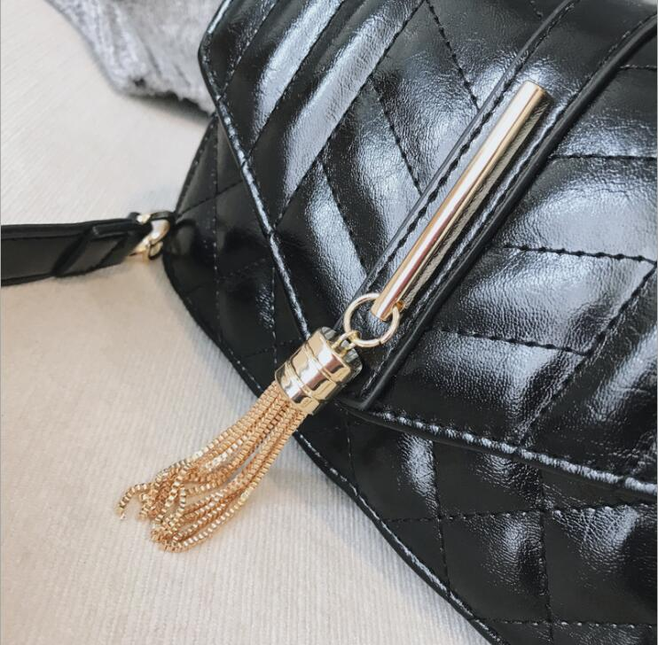 blue Cuoio Messenger Flap Size Del black Donne Tracolla Femminile Sacchetto Reticolo Nappa Size Small brown Size Big Bag Black Size Crossbody Dell'unità wine Diamante 319 Della Size Elaborazione Di Delle FtwzA8xq