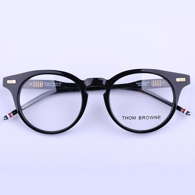 Óculos de Armação Mulheres Homens Thom Browne Óculos Computador Óptico RS274 Espetáculo Para A Lente Clara Transparente das Mulheres do Sexo Feminino
