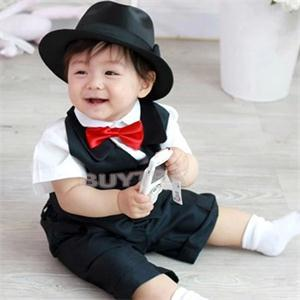 1Pcs Lovely Kids Boys Adjustable Bow Tie For Wedding Party Children Ties Butterfly Type Necktie 4 Colors