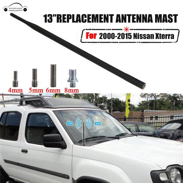 13Inch Car AM FM Antenna Mast Antena Auto Radio Antenna For Nissan ...