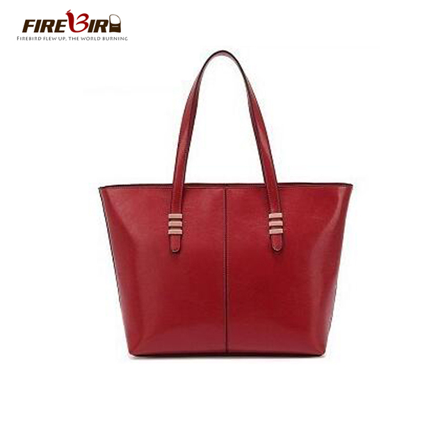 2016 new winter Genuine leather women handbags Brand Design women bag Totes High capacity channels handbags Brown/Black HL6002