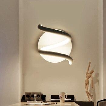 Tối giản hiện đại led đèn tường phòng ngủ cạnh giường đèn đèn tường sáng tạo hình lối đi đèn tường TV đèn LM4121140