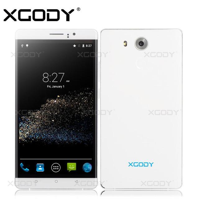 XGODY Y10 Телефон 6 ''Android 5.1 Quad Core 2SIM T-Mobile С 5.0MP Камера RAM 512 МБ + ВНУТРЕННЯЯ ПАМЯТЬ 4 ГБ Мобильного Телефона