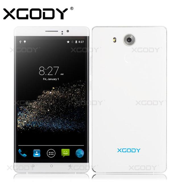 XGODY Y10 Phone 6'' Android 5.1 Quad Core 2SIM T-Mobile With 5.0MP Camera RAM 512MB+ROM 4GB Cellphone