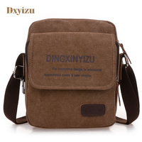 New Men S Canvas Bag Casual Satchel Bag Of Large Capacity Messenger Bag Flap Handbags Durable