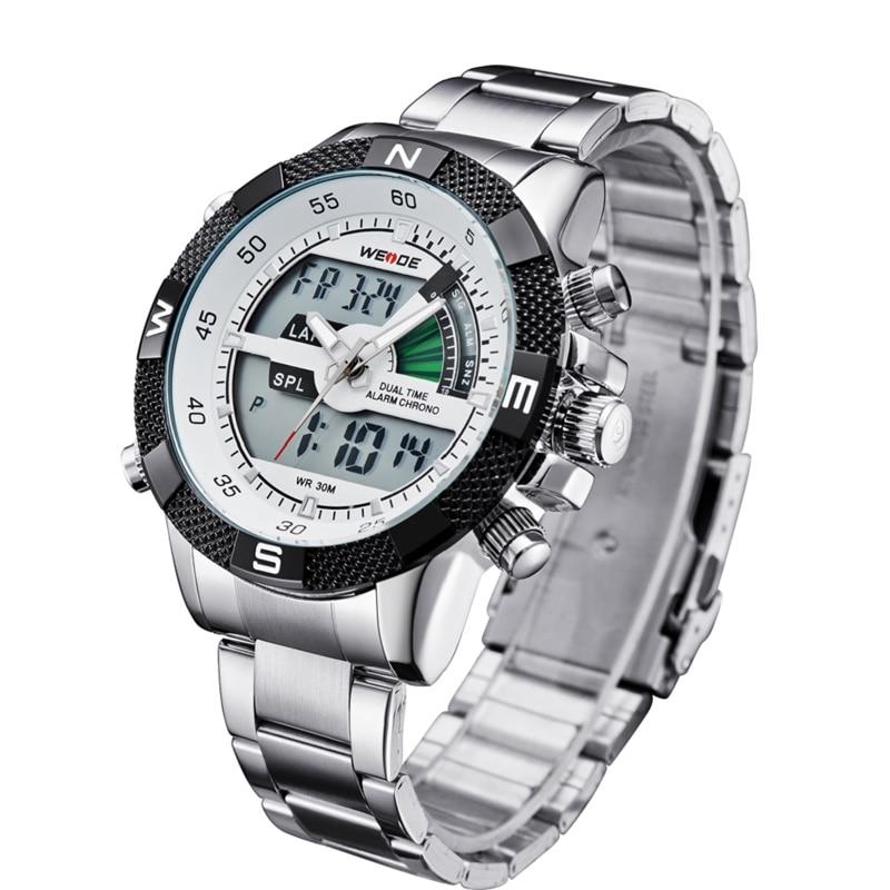 WEIDE Πολυτελή μάρκα ανδρών ρολόι LED - Ανδρικά ρολόγια - Φωτογραφία 3