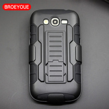 Future Armor Heavy Duty Hard Stand Case for Samsung Galaxy Grand Duos i9080 i9082 With Belt Clip Holster + Flim Touch Stylus