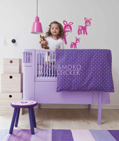 Kids Deer Nursery Ideas Decals For Wall Sticker For Bedrooms Baby Room Personalized Wall Decals 20