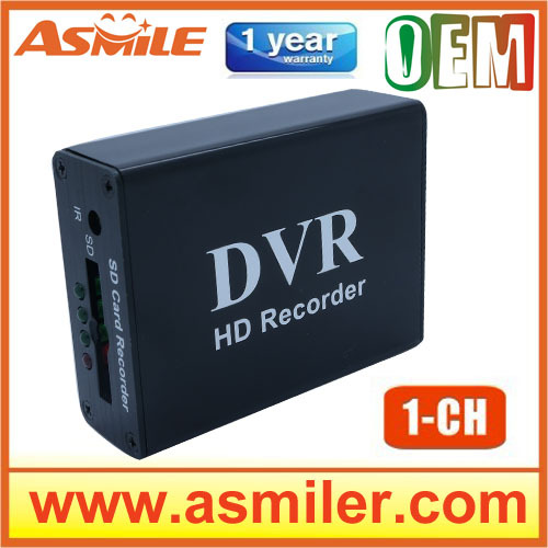Tiny Car DVR 1CH car dvr motion detection car dvr from asmile xbox hd 1 channel mini dvr board 1ch car dvr motion detection car dvr