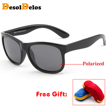 Polarized Kids Sunglasses Children Boys Girls Safety Brand Glasses Flexible Rubber Frame Child Shades Oculos Infantil with case