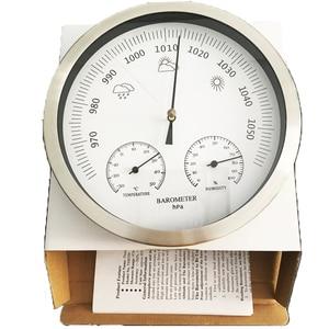 Image 2 - 20 سنتيمتر ميزان الحرارة الرطوبة مقياس الضغط 3 في 1 محطة الطقس الجدار الشنق