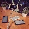 3 em 1 selfie vara extensível monopé telefone casos para iphone 6 plus shell com um puxão rápido proteger cobertura